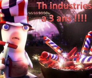TH INDUSTRIES a 3 ans
